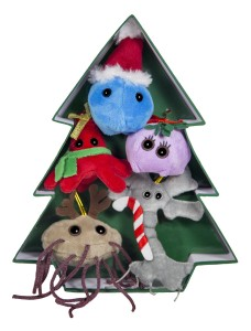 Giant Microbes Ornaments_Amazon