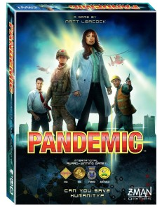 Pandemic Board Game_Amazon